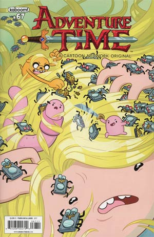 Adventure Time #67 Cover A Regular Shelli Paroline & Braden Lamb Cover