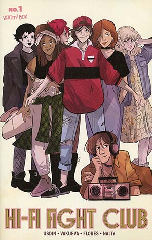 Hi-Fi Fight Club #1 Cover B Variant Brooke Allen Subscription Cover