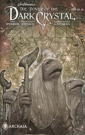 Jim Hensons Power Of The Dark Crystal #6 Cover B Variant Sana Takeda Subscription Cover