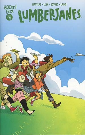 Lumberjanes #41 Cover A Regular Kat Leyh Cover