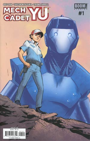 Mech Cadet Yu #1 Cover B Variant Marcus To Connecting Subscription Cover