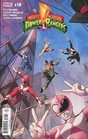 Mighty Morphin Power Rangers (BOOM Studios) #18 Cover A Regular Jamal Campbell Cover