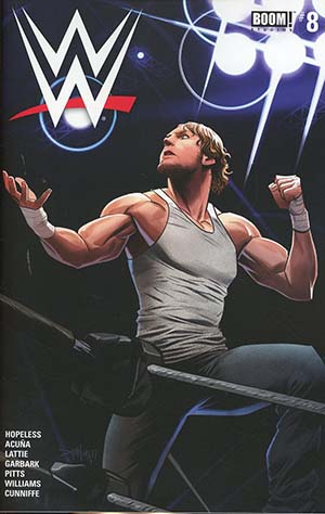WWE #8 Cover A Regular Dan Mora Cover