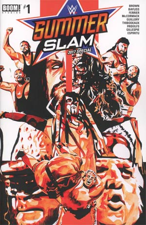 WWE SummerSlam 2017 Special #1 Cover A Regular Rob Schamberger Cover