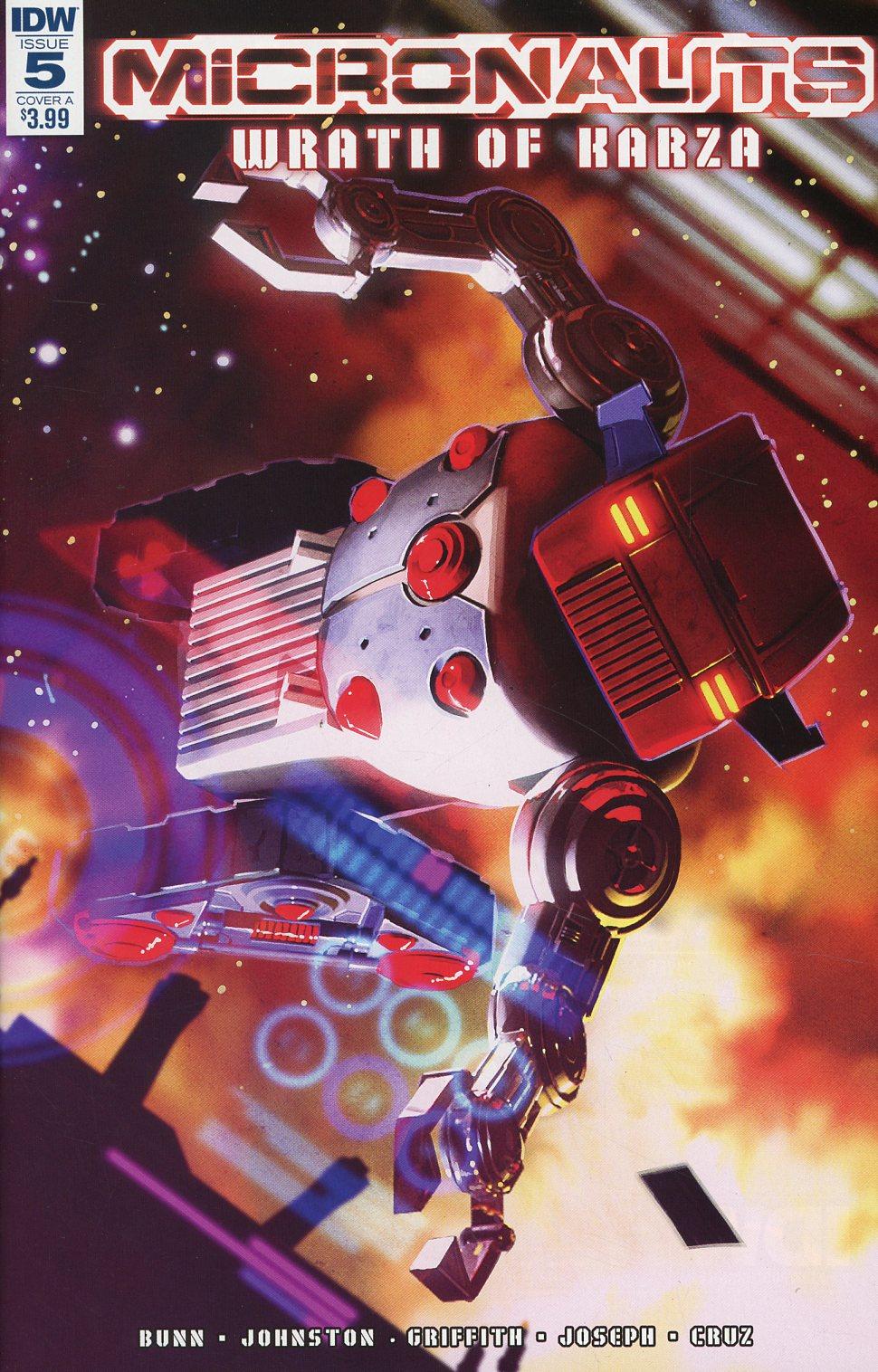 Micronauts Wrath Of Karza #5 Cover A Regular Alex Ronald Cover