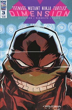 Teenage Mutant Ninja Turtles Dimension X #3 Cover B Variant Khary Randolf Cover