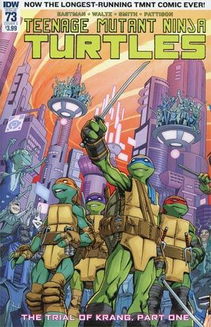 Teenage Mutant Ninja Turtles Vol 5 #73 Cover A Regular Cory Smith Cover