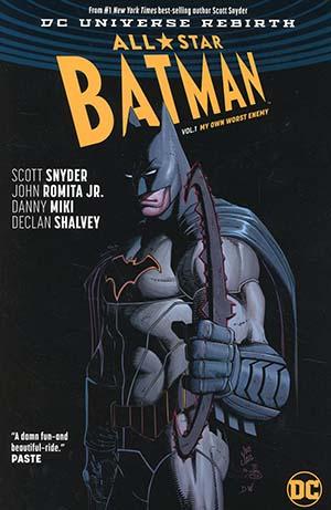 All-Star Batman (Rebirth) Vol 1 My Own Worst Enemy TP
