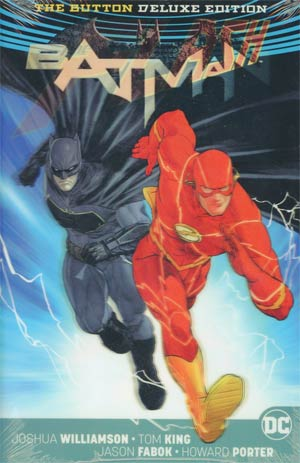 Batman Flash The Button Deluxe Edition HC International Edition With Lenticular Dustjacket (Rebirth)
