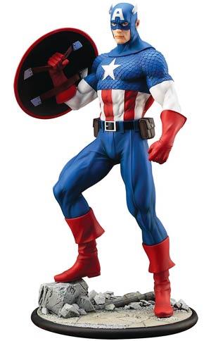 Marvel Comics Captain America Modern Myth ARTFX Statue