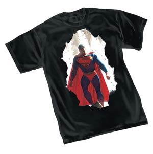 Superman Breakthrough By Alex Ross T-Shirt Large