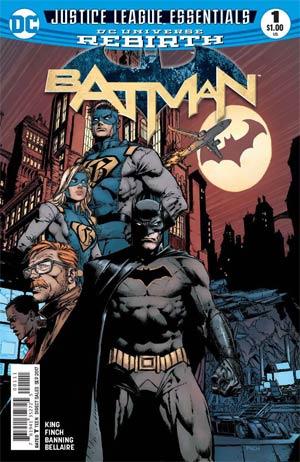 DC Justice League Essentials Batman #1 (Rebirth)