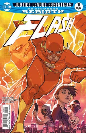 DC Justice League Essentials Flash #1 (Rebirth)