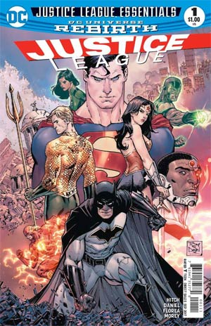 DC Justice League Essentials Justice League #1 (Rebirth)