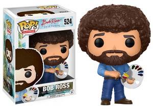 POP Television 524 The Joy Of Painting Bob Ross Vinyl Figure