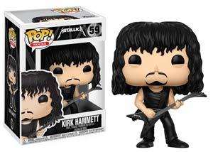 POP Rocks 59 Metallica Kirk Hammett Vinyl Figure
