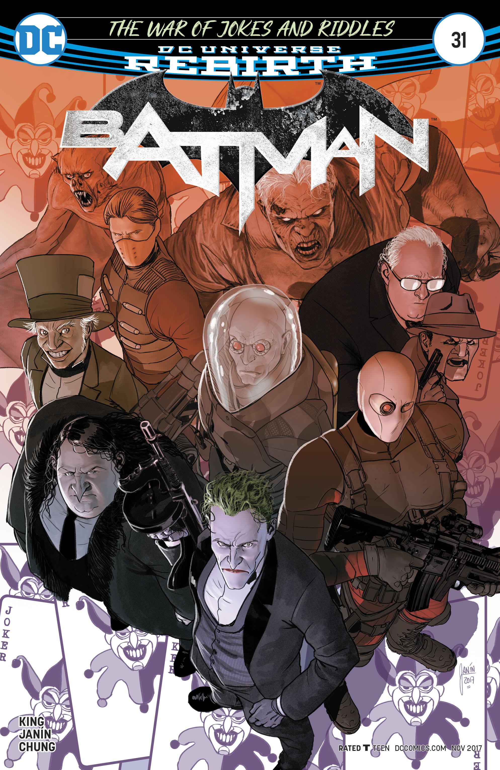 Batman Vol 3 #31 Cover A Regular Mikel Janin Cover