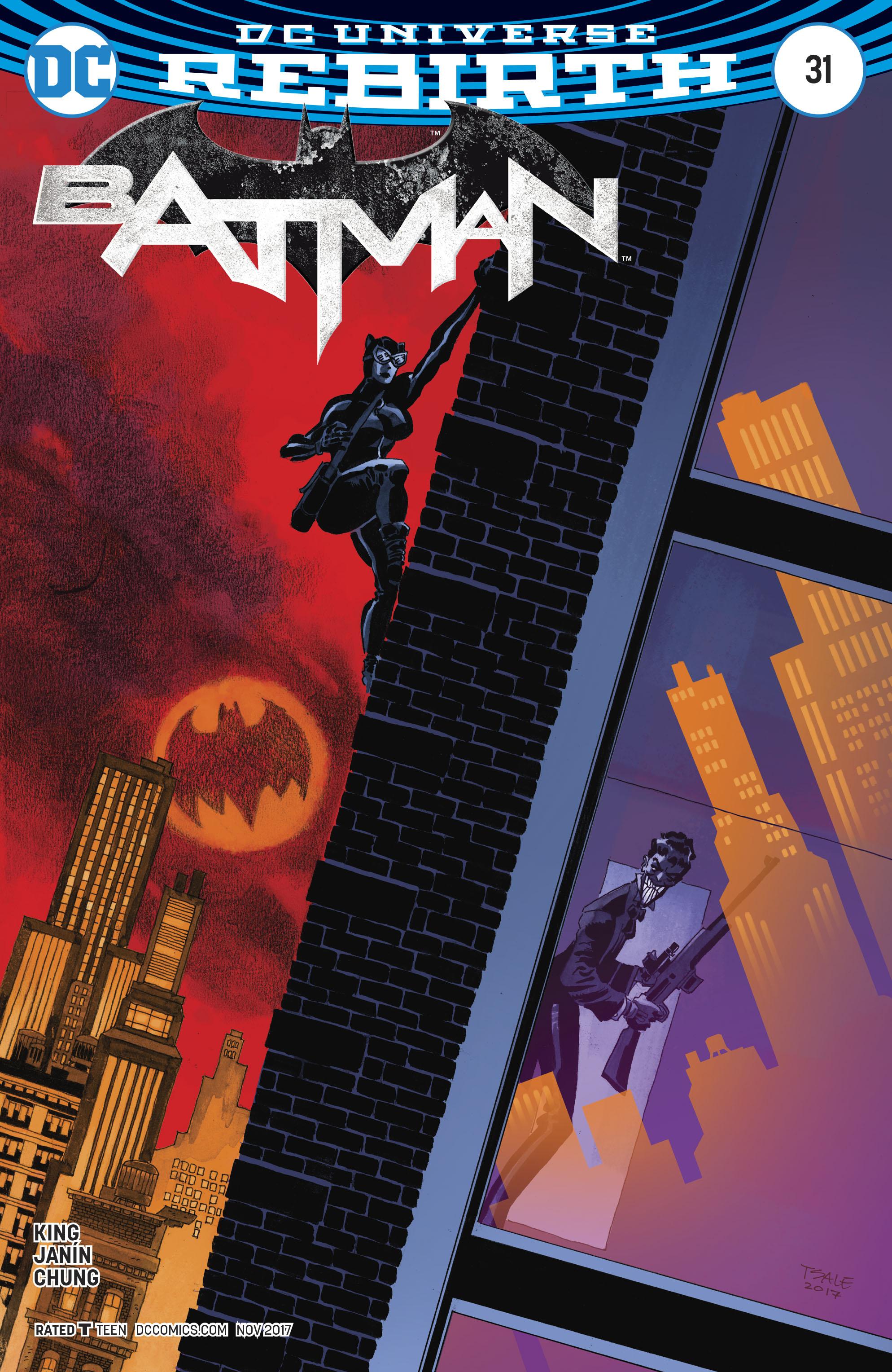 Batman Vol 3 #31 Cover B Variant Tim Sale Cover
