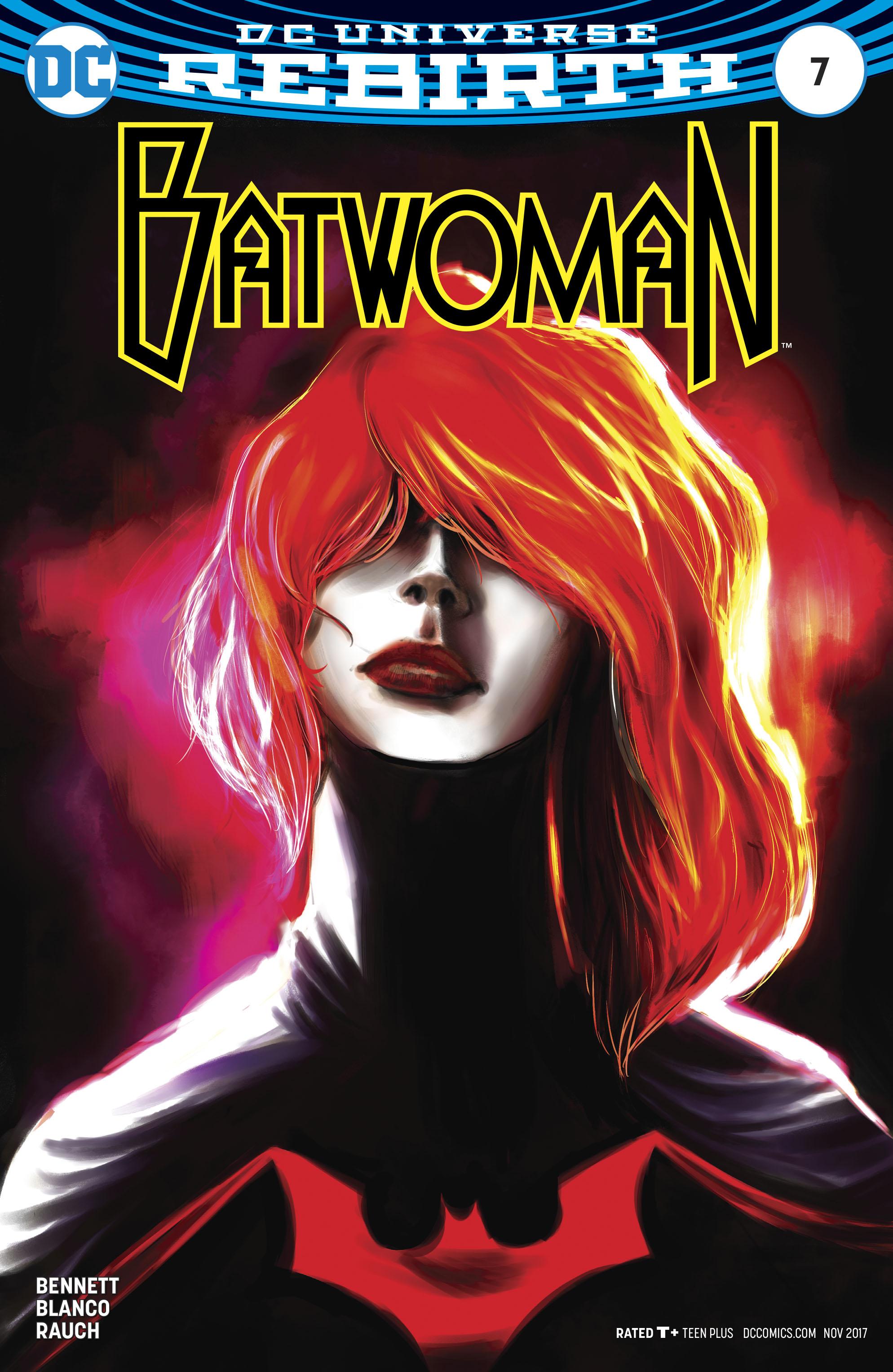 Batwoman Vol 2 #7 Cover B Variant Robbi Rodriguez Cover