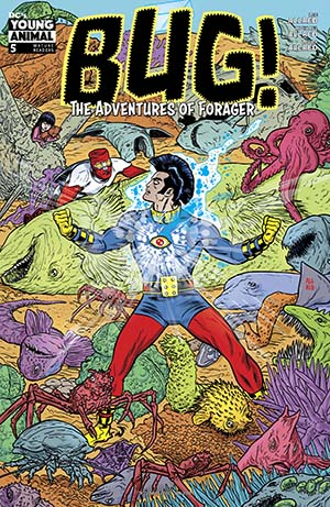 Bug The Adventures Of Forager #5 Cover A Regular Michael Allred Cover