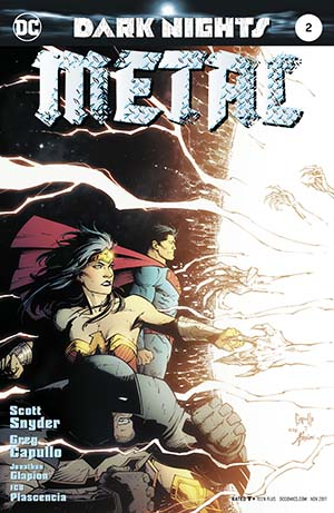 Dark Nights Metal #2 Cover A 1st Ptg Regular Greg Capullo & Jonathan Glapion Foil-Stamped Cover