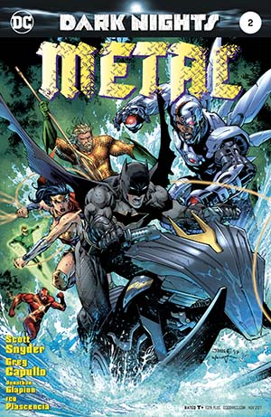 Dark Nights Metal #2 Cover C Variant Jim Lee Cover (Limit 1 Per Customer)