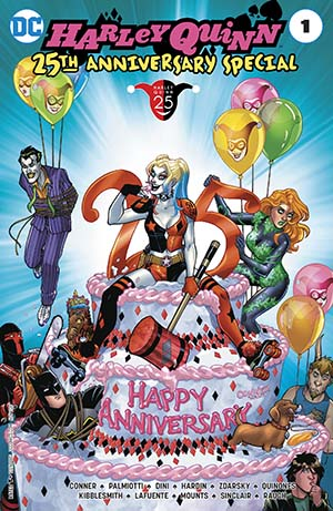Harley Quinn 25th Anniversary Special #1 Cover A Regular Amanda Conner Cover