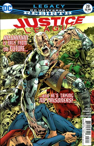 Justice League Vol 3 #28 Cover A Regular Bryan Hitch Cover