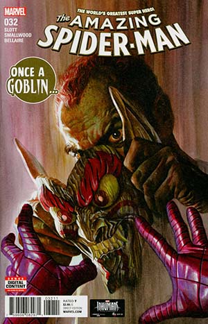 Amazing Spider-Man Vol 4 #32 Cover A Regular Alex Ross Cover