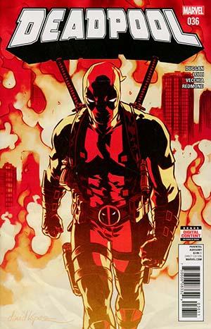 Deadpool Vol 5 #36 Cover A Regular David Lopez Cover (Secret Empire Epilogue)