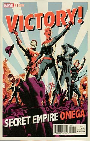 Secret Empire Omega #1 Cover B Variant Michael Cho Cover (Secret Empire Epilogue)