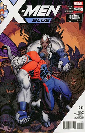 X-Men Blue #11 Cover A Regular Arthur Adams Cover