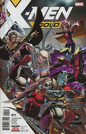 X-Men Gold #11 Cover A Regular Dan Mora Cover
