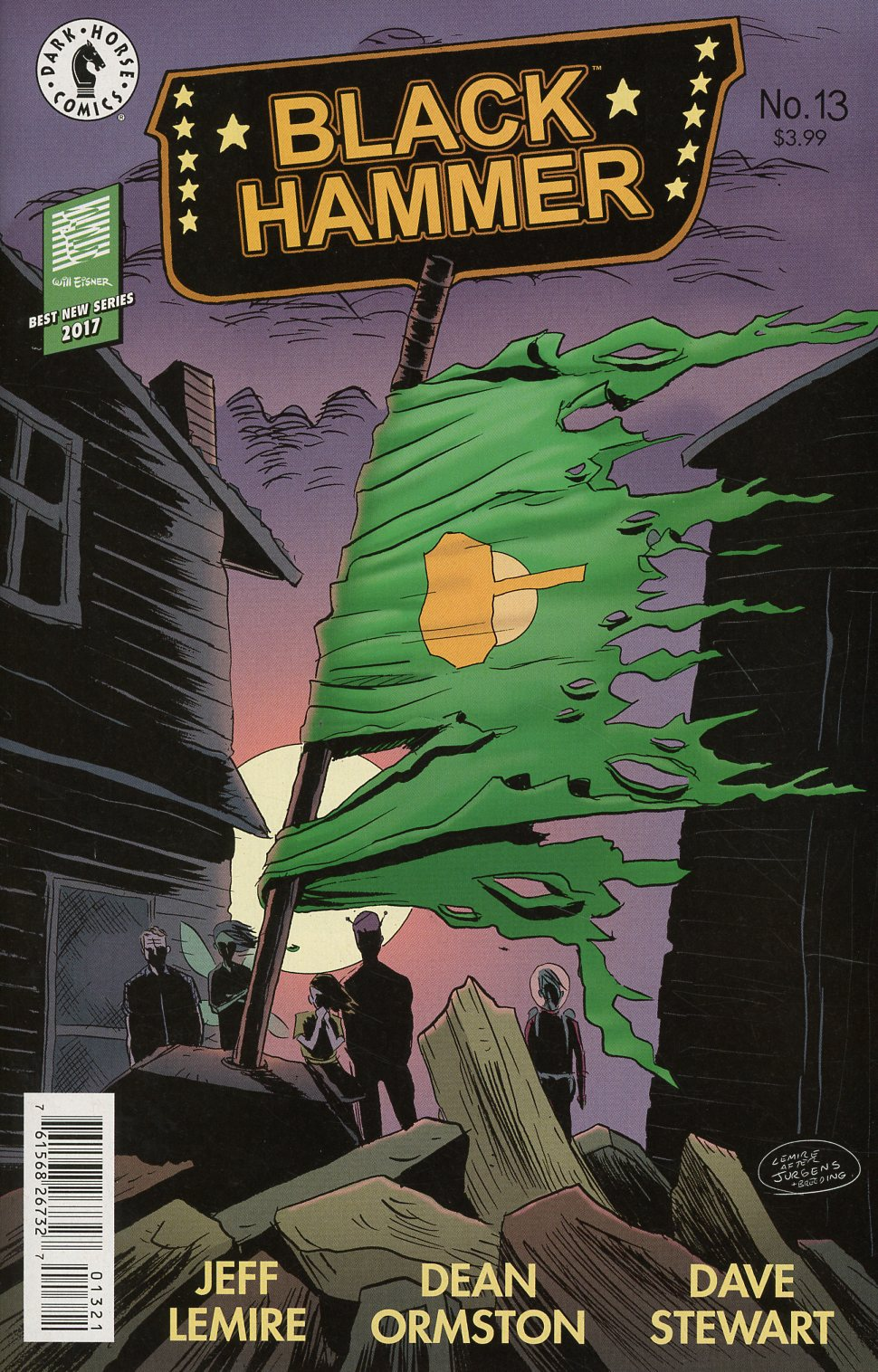Black Hammer #13 Cover B Variant Jeff Lemire Cover