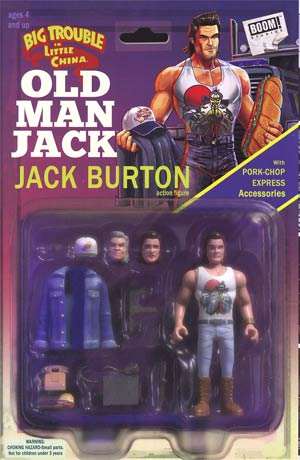 Big Trouble In Little China Old Man Jack #1 Cover C Variant Michael Adams Action Figure Subscription Cover