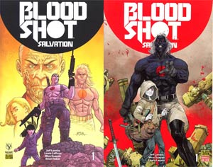 Bloodshot Salvation #1 Cover D Variant Ryan Bodenheim Cover