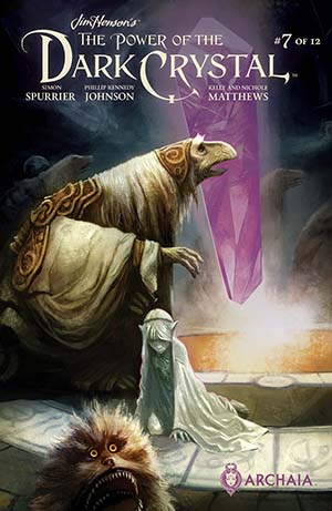 Jim Hensons Power Of The Dark Crystal #7 Cover A Regular Mike Huddleston Cover