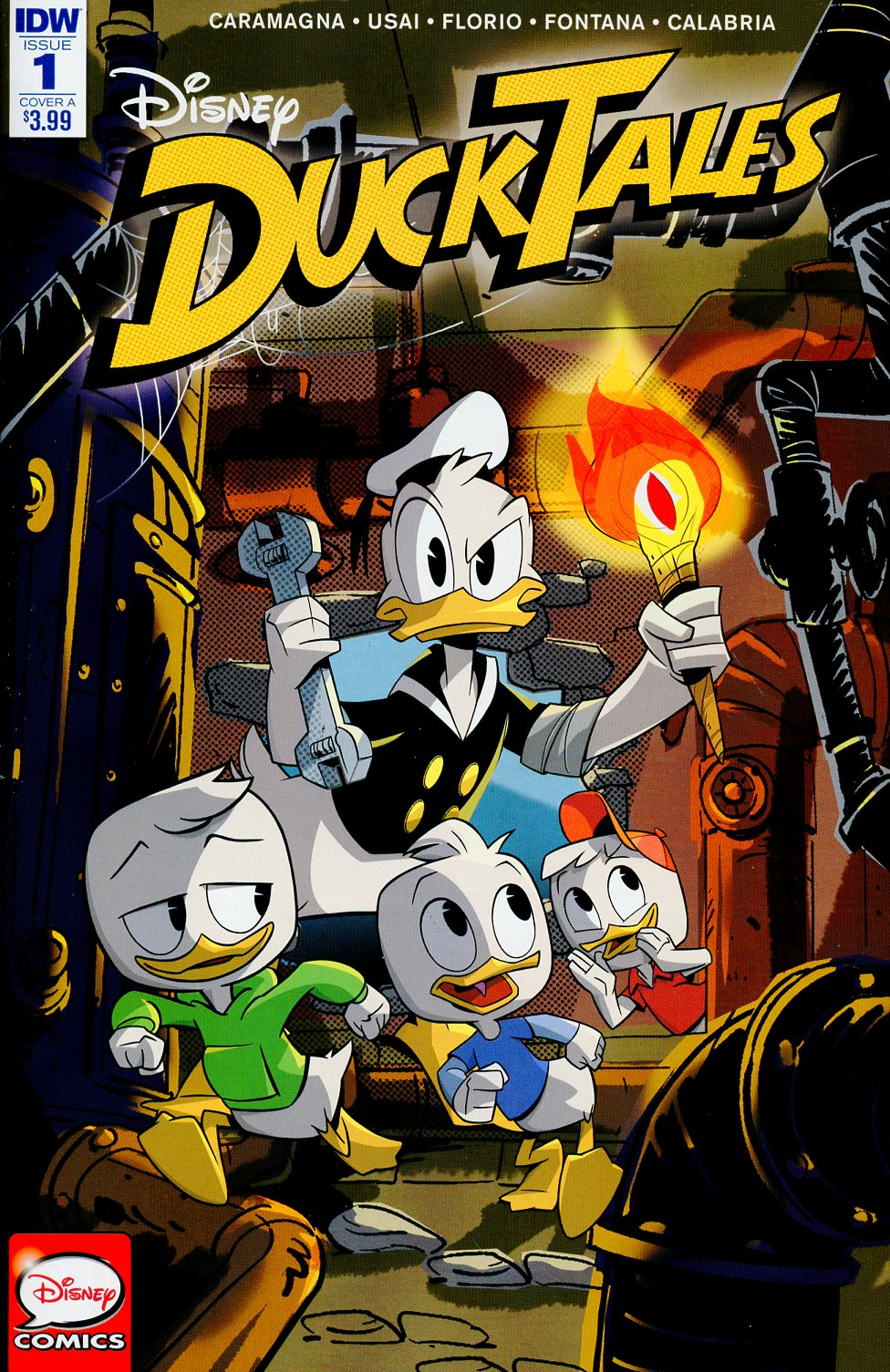 Ducktales Vol 4 #1 Cover A Regular Marco Ghiglione Cover