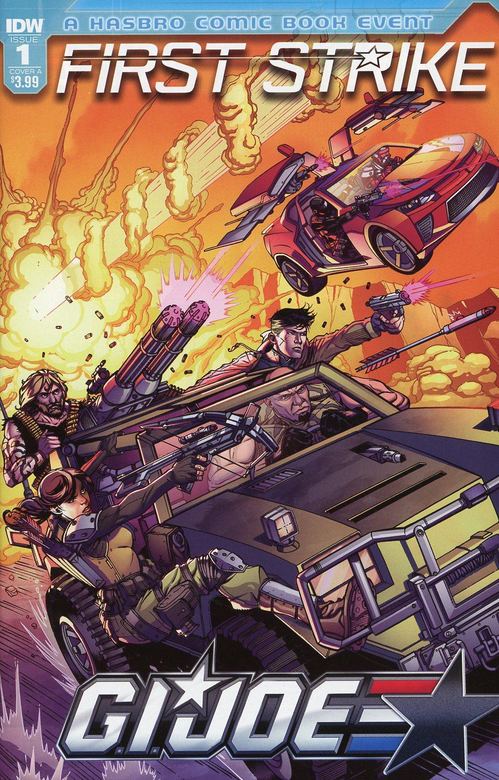 GI Joe First Strike #1 Cover A Regular Drew Johnson Cover