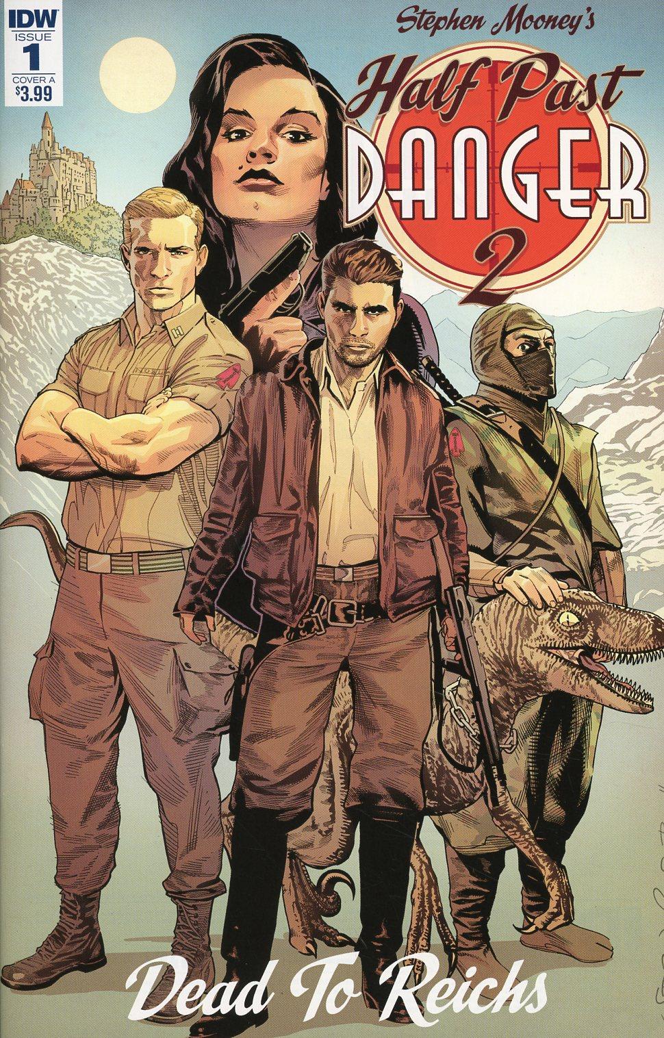 Half Past Danger II Dead To Reichs #1 Cover A Regular Stephen Mooney Cover