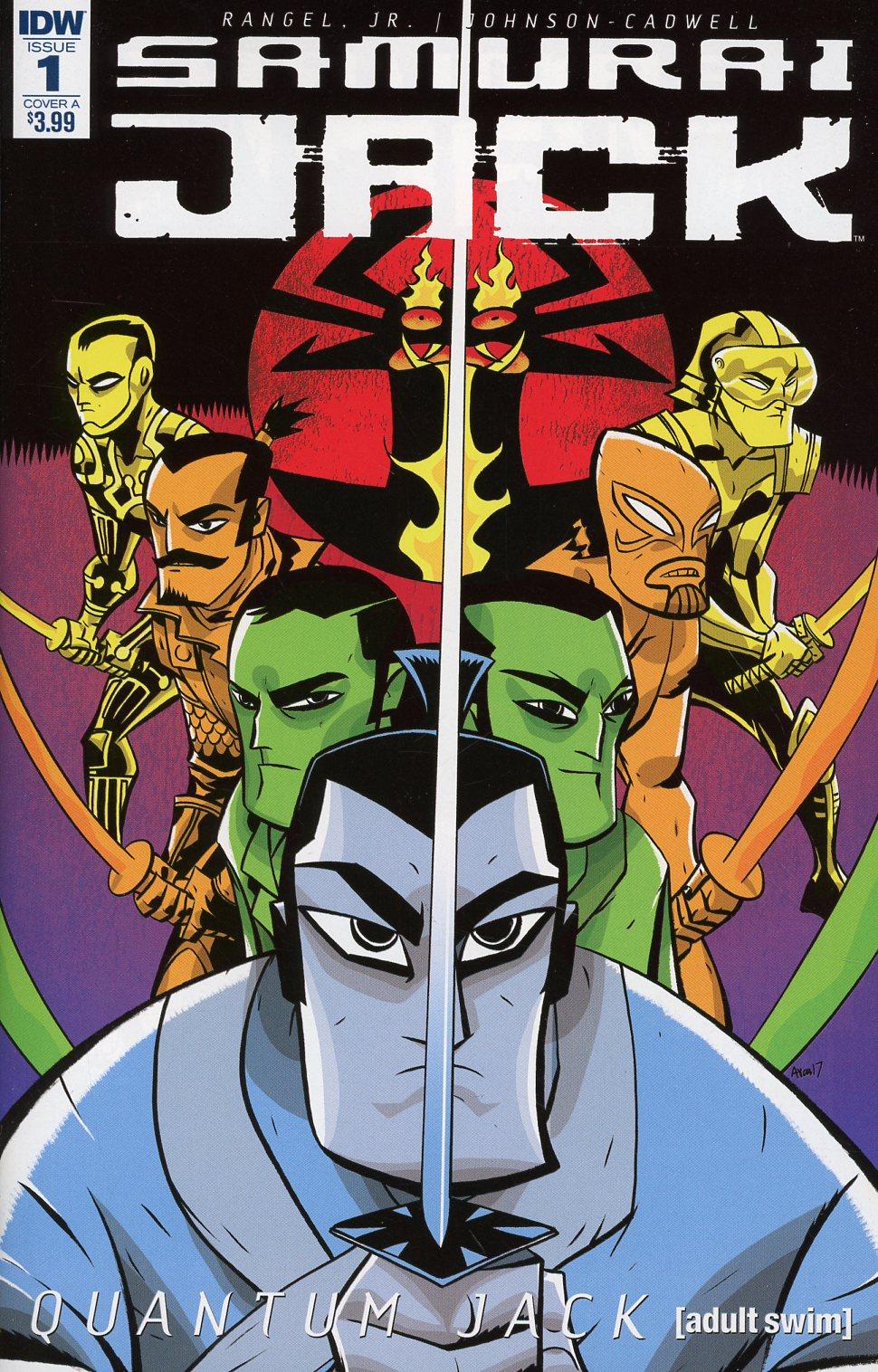 Samurai Jack Quantum Jack #1 Cover A Regular Michael Avon Oeming Cover