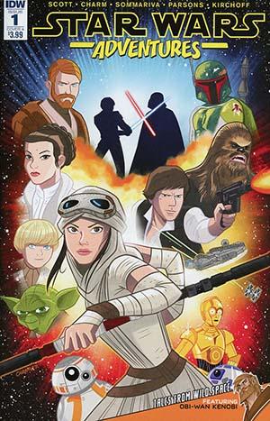 Star Wars Adventures #1 Cover A Regular Derek Charm Cover