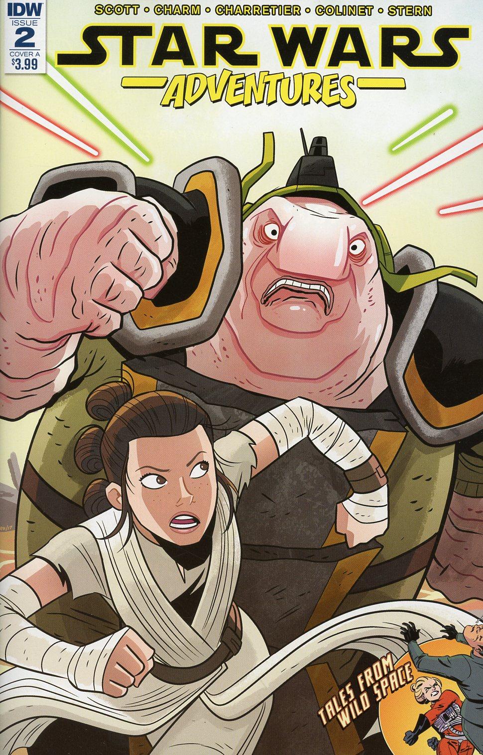 Star Wars Adventures #2 Cover A Regular Derek Charm Cover