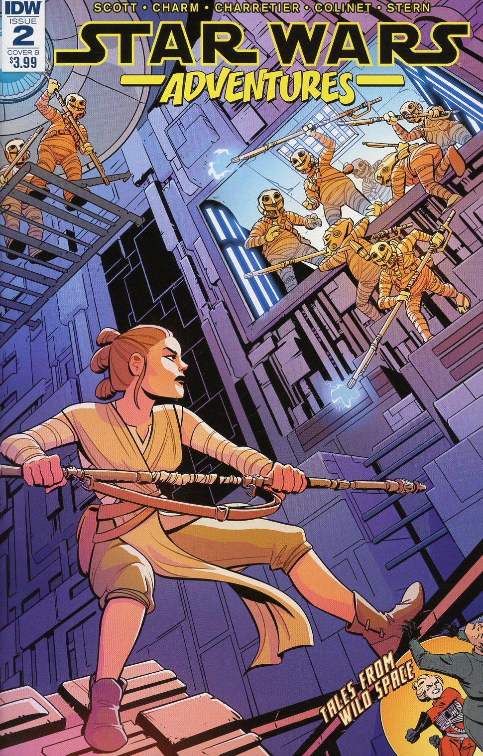 Star Wars Adventures #2 Cover B Variant Elsa Charretier Cover