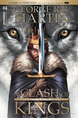 Game Of Thrones Clash Of Kings #4 Cover A Regular Mike Miller Cover