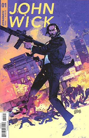 John Wick #1 Cover B Variant Denys Cowan & Bill Sienkiewicz Cover