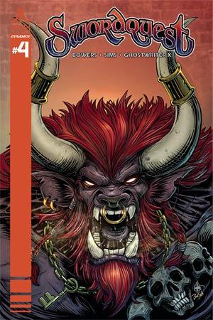 Swordquest #4 Cover C Variant Ken Haesar Cover