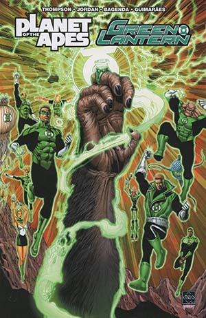Planet Of The Apes Green Lantern TP