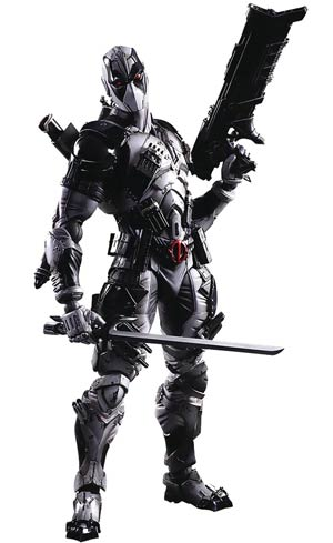 Marvel Comics Variant Play Arts Kai Action Figure - Deadpool X-Force Version