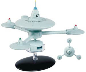 Star Trek Starships Figure Collection Magazine Special #16 Deep Space Station K-7
